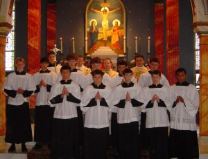 Graduation Mass at St. Gregory's Academy 2005