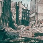 Munich after bombings in WWII
